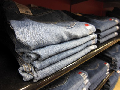 Clothes Jeans Folded