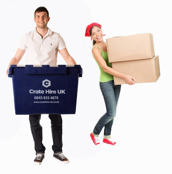 Rental Crates Vs Cardboard Boxes Crate Hire UK