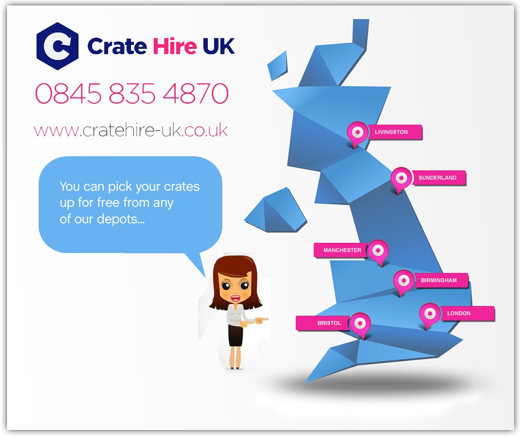 Crate Hire UK Depot Locations