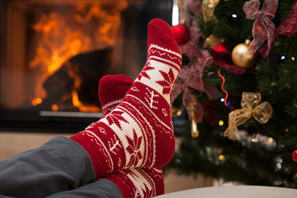 Relaxing At Christmas Crate Hire UK