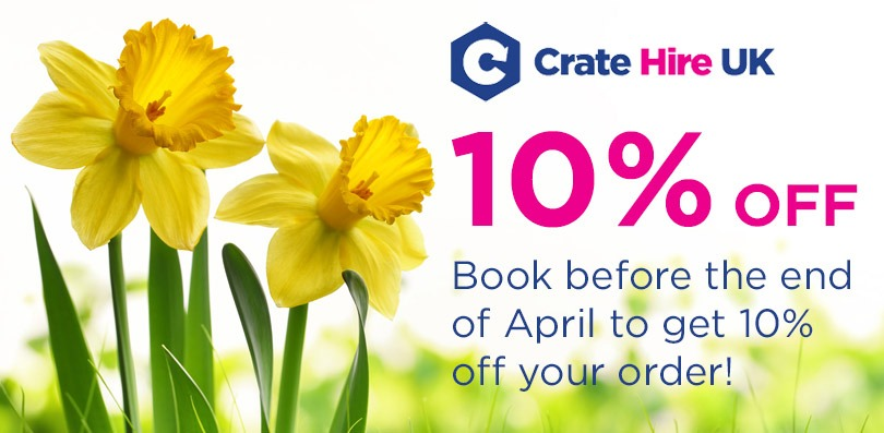 Spring Crate Discount Crate Hire UK