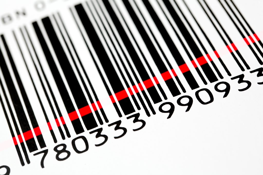 Barcoded Crate Label