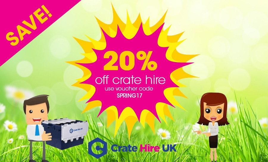 Crate Hire Discount Voucher