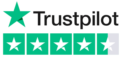 Trustpilot rating excellent