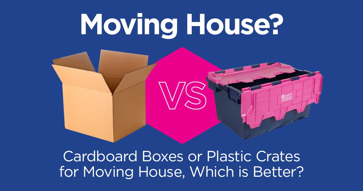 Cardboard Boxes vs Plastic Moving Boxes