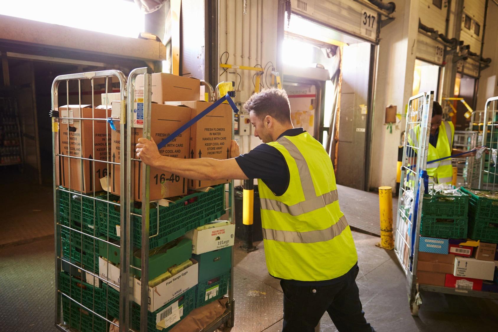 Benefits of crate handling equipment