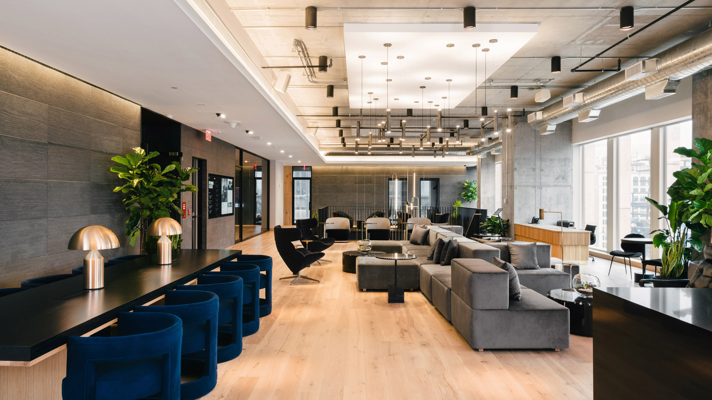 Equinox & Industrious Co-working Hub, Hudson Yards