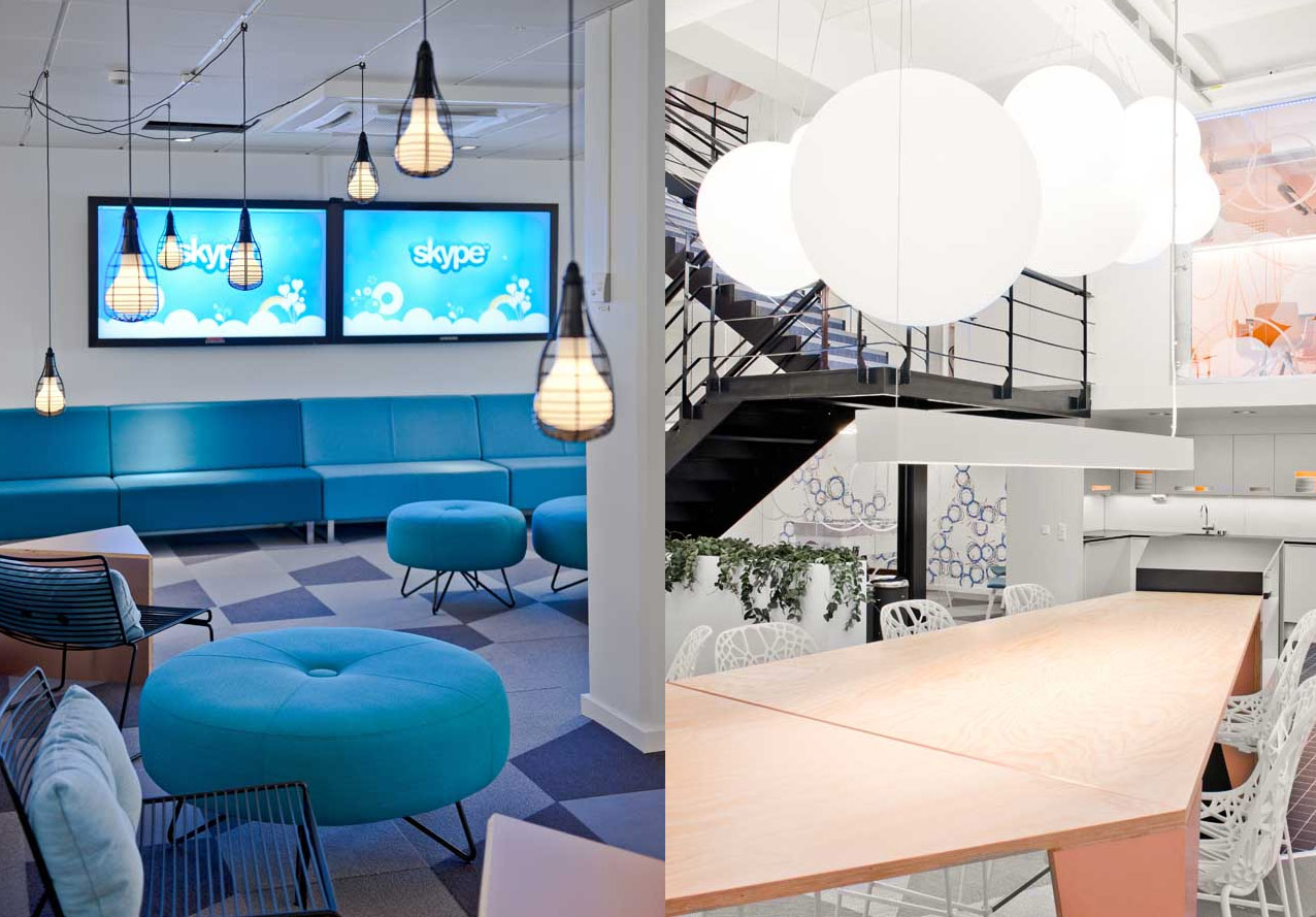 Skype Head Office in Stockholm, Sweden