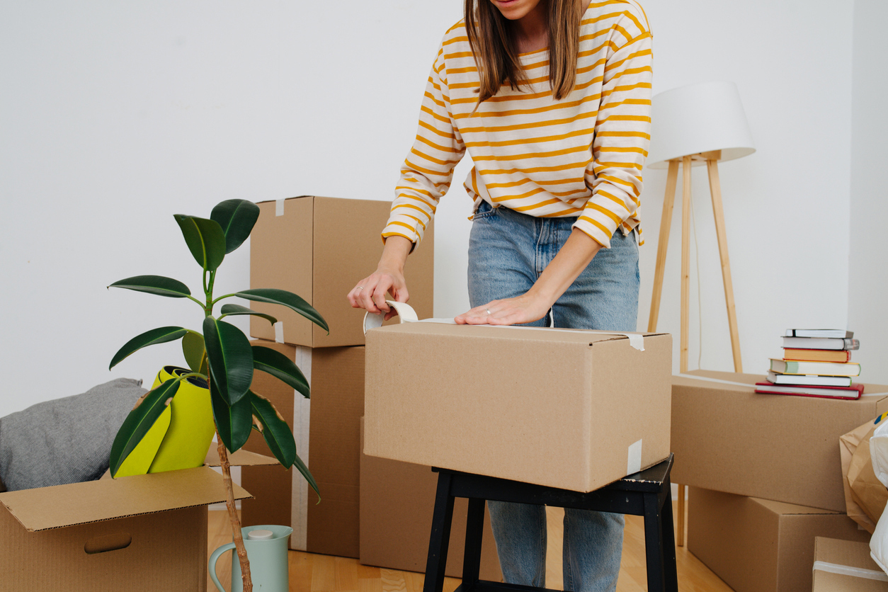 What to pack first moving