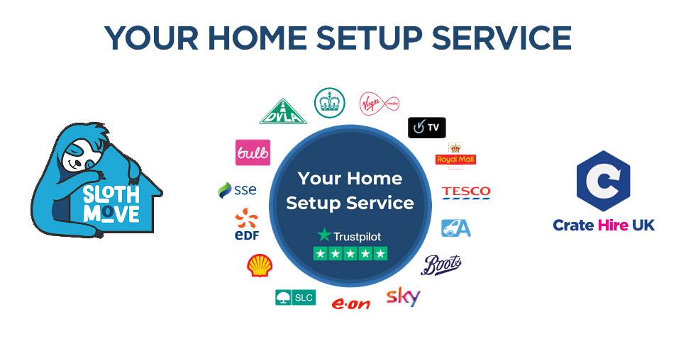 Home setup service