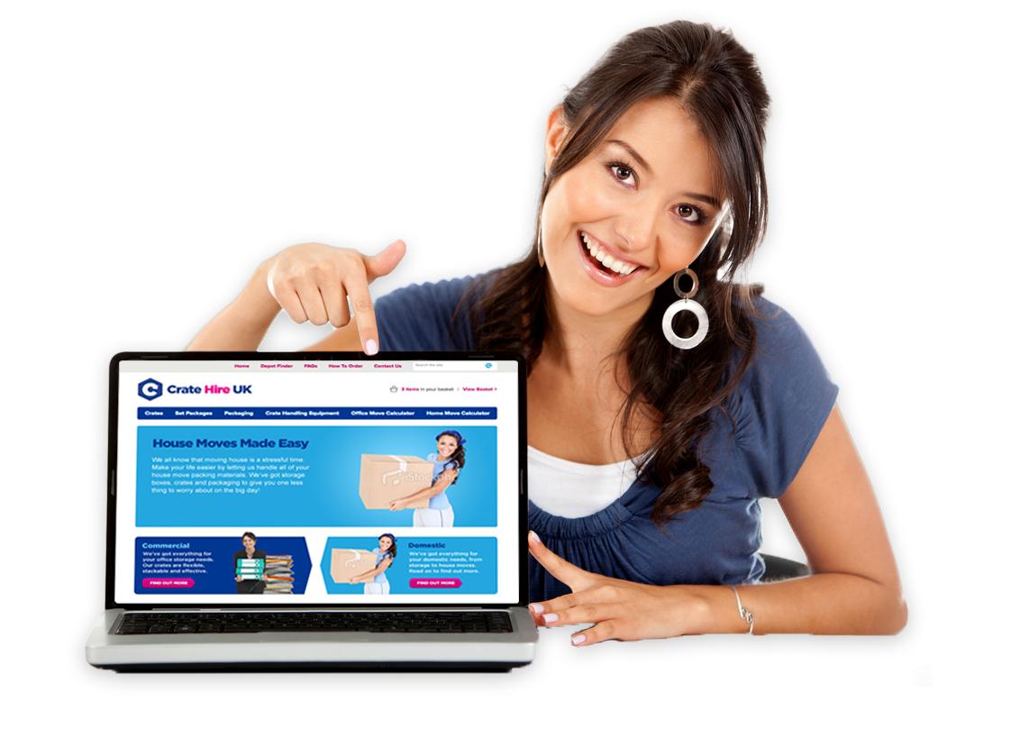 Online Crate Rental