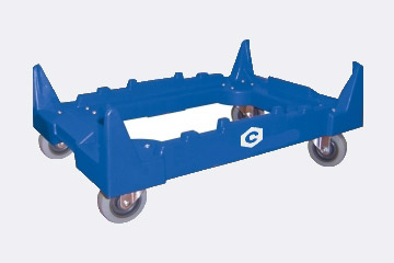 Plastic Crate Dolly