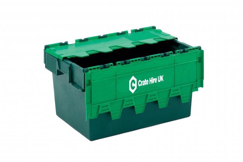 CH2 - Medium Plastic Moving Crate