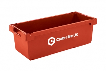 Metre Long Unlidded Removal Crates To Move Easily - Crate Hire UK