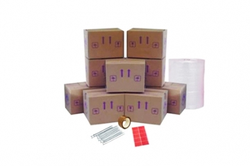 Cardboard Boxes For Moving Home - Set Package 1 - Crate Hire UK