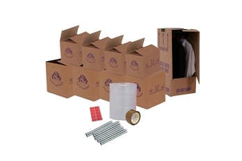 Cardboard Boxes For Moving Home - Set Package 2 - Crate Hire UK