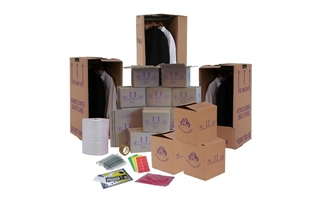 Cardboard Boxes For Moving Home - Set Package 4 - Crate Hire UK