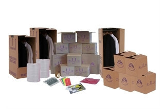 Cardboard Boxes For Moving Home - Set Package 5 - Crate Hire UK