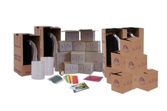 Cardboard Boxes For Moving Home - Set Package 6 - Crate Hire UK