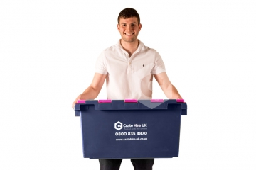 Plastic Moving Crate Rental Set Package 1 - Crate Hire UK - Thumbnail 1