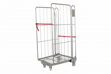 2 Sided Steel Roll Cages To Rent & Hire - Crate Hire UK