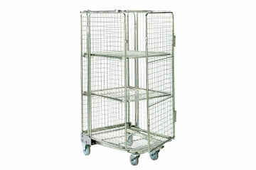 Full Security Roll Cages Hire - Securely Move Your Items - Crate Hire UK