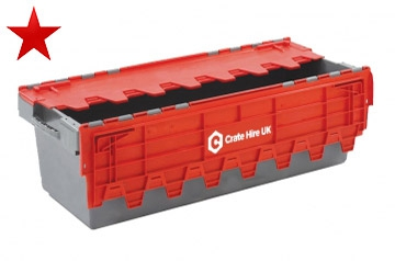 Moving Crates Hire - Plastic Boxes For Moving Books - Crate Hire UK