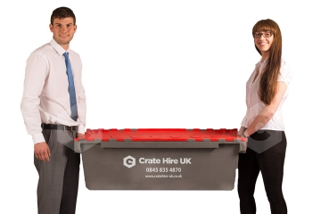 Moving Crates Hire - Plastic Boxes For Moving Books - Crate Hire UK - Thumbnail 1