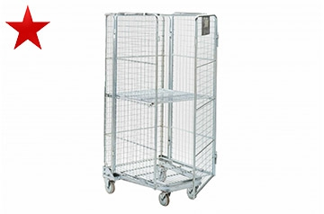 Steel Roll Cages Hire - Move & Store Easily - Crate Hire UK