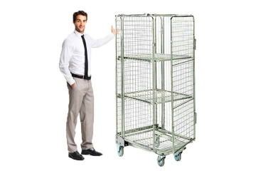 Full Security Roll Cages Hire - Securely Move Your Items - Crate Hire UK - Thumbnail 1