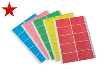CLABS - Sheet of 10 Adhesive Crate Labels