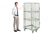 Full Security Roll Cages Hire - Securely Move Your Items - Crate Hire UK - Thumbnail 2