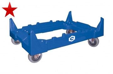SK3 - Plastic Standard Crate Dolly